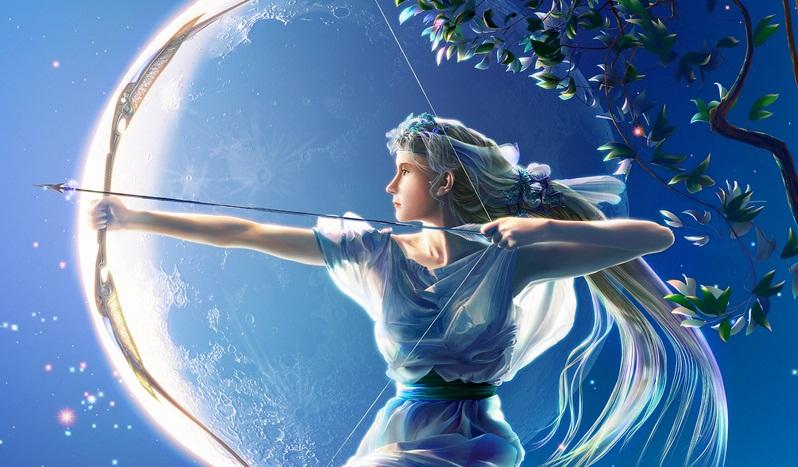 Artemis Greek Goddess Of Hunting And Vegetation