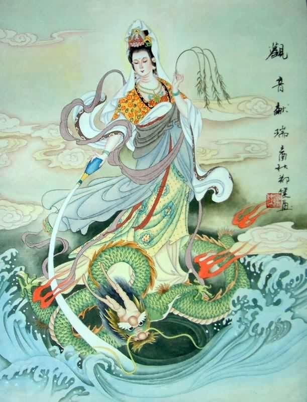 Kuan Yin Quan Yin Kwan Yin Chinese Goddess Of Compassion